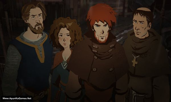 Ken Follett's The Pillars of the Earth Screenshot 2, Full Version, PC Game, Download Free