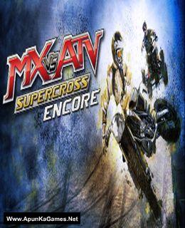 MX vs. ATV Supercross Encore Cover, Poster, Full Version, PC Game, Download Free