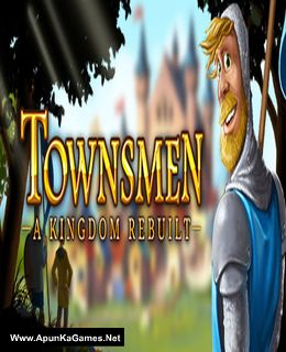 Townsmen - A Kingdom Rebuilt Cover, Poster, Full Version, PC Game, Download Free