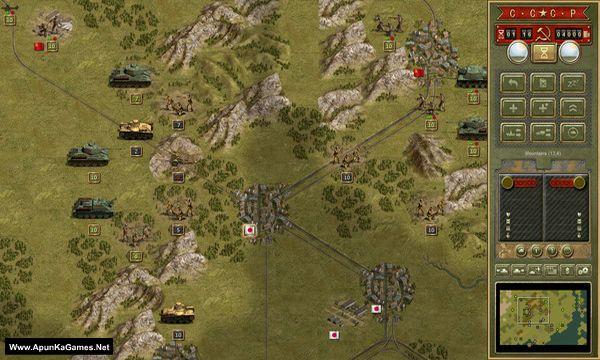 Panzer Corps: Soviet Corps Screenshot 2, Full Version, PC Game, Download Free