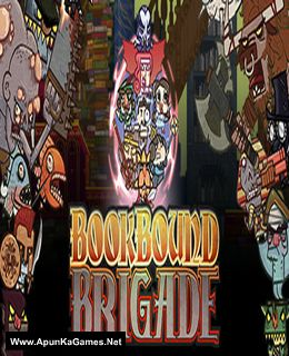 Bookbound Brigade Cover, Poster, Full Version, PC Game, Download Free