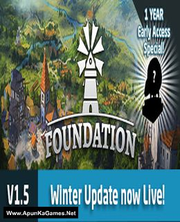 Foundation Cover, Poster, Full Version, PC Game, Download Free