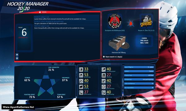 Hockey Manager 20|20 Screenshot 3, Full Version, PC Game, Download Free