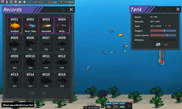 Fish Simulator Aquarium Manager Screenshot 2, Full Version, PC Game, Download Free