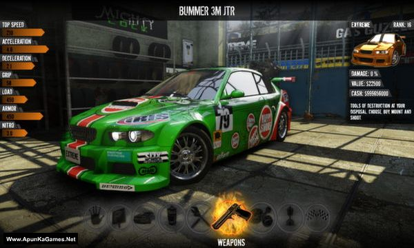 Gas Guzzlers Extreme Screenshot 1, Full Version, PC Game, Download Free