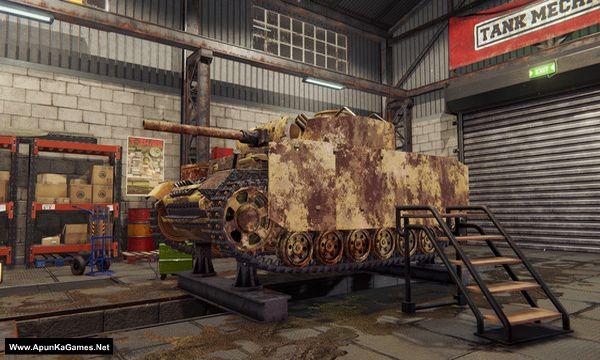 Tank Mechanic Simulator Screenshot 3, Full Version, PC Game, Download Free