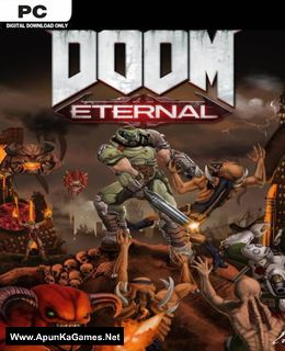 Doom Eternal Cover, Poster, Full Version, PC Game, Download Free