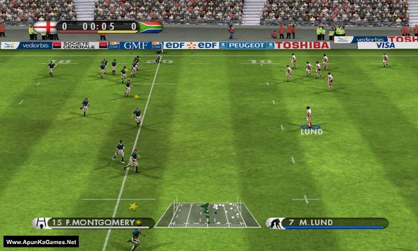 EA Sports Rugby 08 Screenshot 2, Full Version, PC Game, Download Free