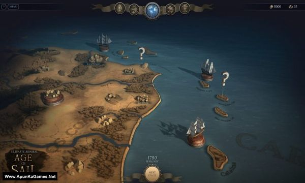 Ultimate Admiral Age of Sail Screenshot 1, Full Version, PC Game, Download Free
