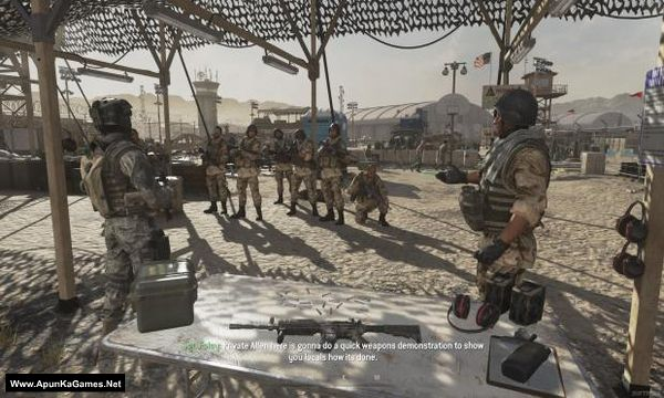 Call Of Duty Modern Warfare 2 Campaign Remastered Pc Game Apunkagames
