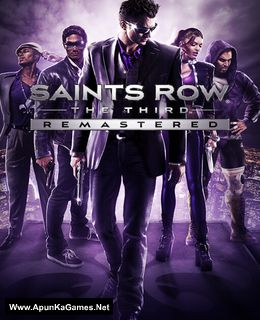 Saints Row The Third Remastered Cover, Poster, Full Version, PC Game, Download Free