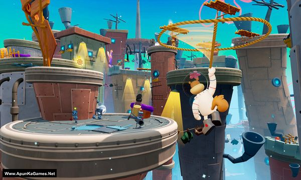 SpongeBob SquarePants: Battle for Bikini Bottom – Rehydrated Screenshot 3, Full Version, PC Game, Download Free