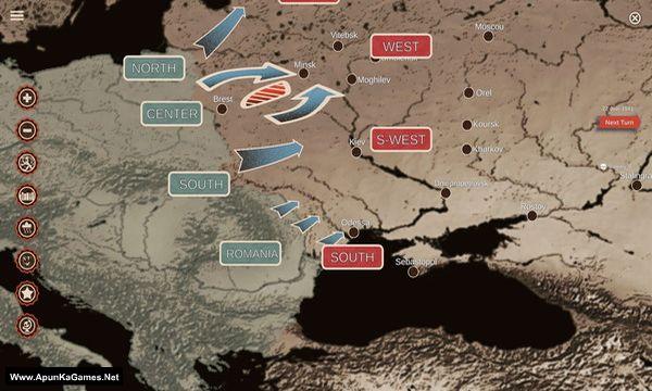 Cauldrons of War: Barbarossa Screenshot 3, Full Version, PC Game, Download Free