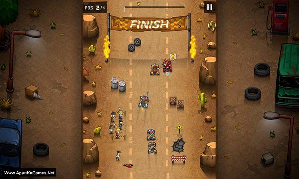 Rude Racers: 2D Combat Racing Screenshot 3, Full Version, PC Game, Download Free