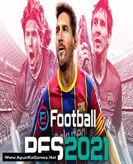 eFootball PES 2021 Cover, Poster, Full Version, PC Game, Download Free