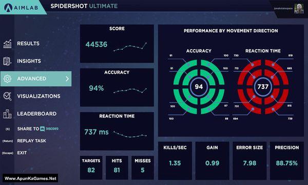 Aim Lab Screenshot 2, Full Version, PC Game, Download Free