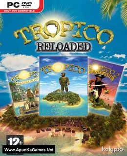 Tropico Reloaded Cover, Poster, Full Version, PC Game, Download Free