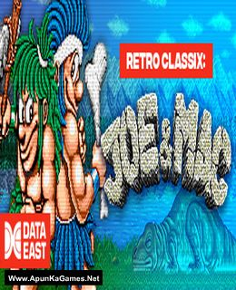 Retro Classix: Joe and Mac - Caveman Ninja Cover, Poster, Full Version, PC Game, Download Free