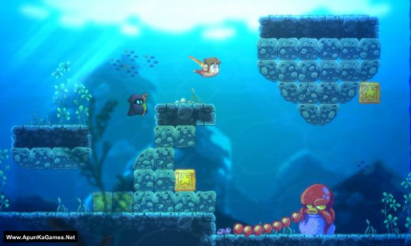 Alex Kidd in Miracle World DX Screenshot 3, Full Version, PC Game, Download Free