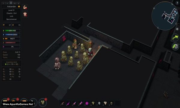 Ultimate ADOM: Caverns of Chaos Screenshot 1, Full Version, PC Game, Download Free