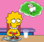 lisa vegetariana