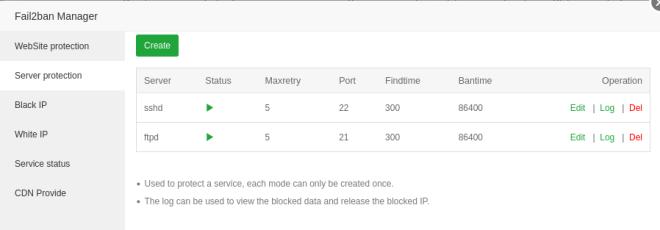 La seguridad brindada por Fial2Ban es infaltable en cualquier servidor son servicios públicos.
