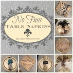 No Fuss Table Napkins