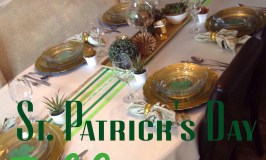 St. Patrick's Day Tablescape