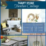 #30DayFlip – September Round Up – Thrift Store Furniture Challenge