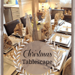 Christmas Tablescape