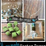 Homemade Easter Decor