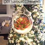 Easy DIY Succulent Ornaments