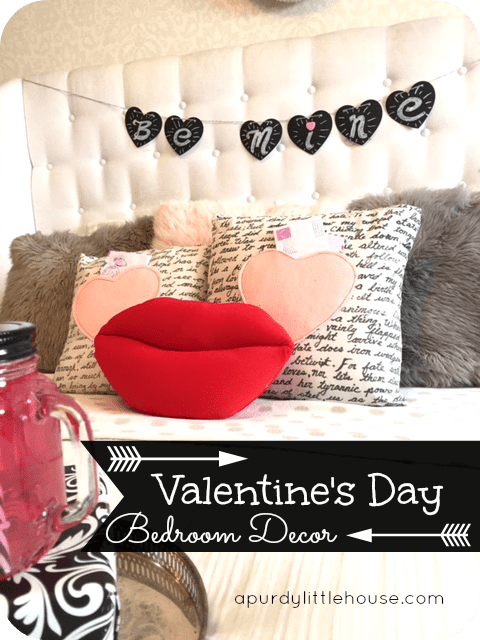 Valentineu0027s Day Bedroom Decor / How To Decorate For Valentineu0027s Day /  Holiday Wreath / Valentineu0027s