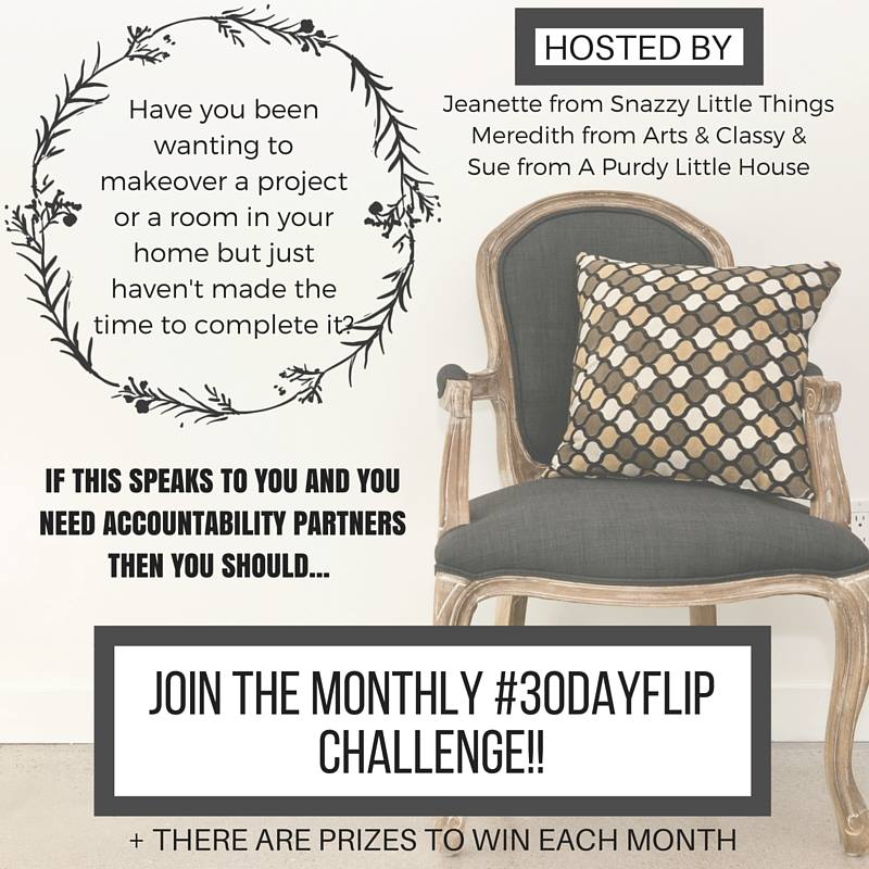 30 day flip monthly challenges