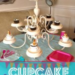 Chandelier Cupcake Stand