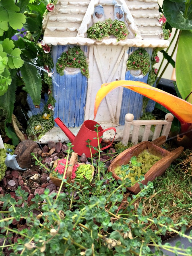 how to make an outdoor fairy house