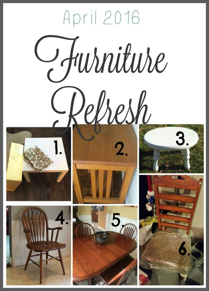 Furniture Refresh Challenge Furniture Upcycle
