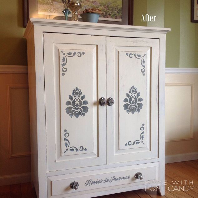 March Furniture Flip Challenge - #30DayFlip Round-Up Furniture Upcycle tv-cabinet-to-china-cabinet-painted-furniture-repurposing-upcycling #30dayflip
