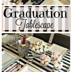Graduation Tablescape