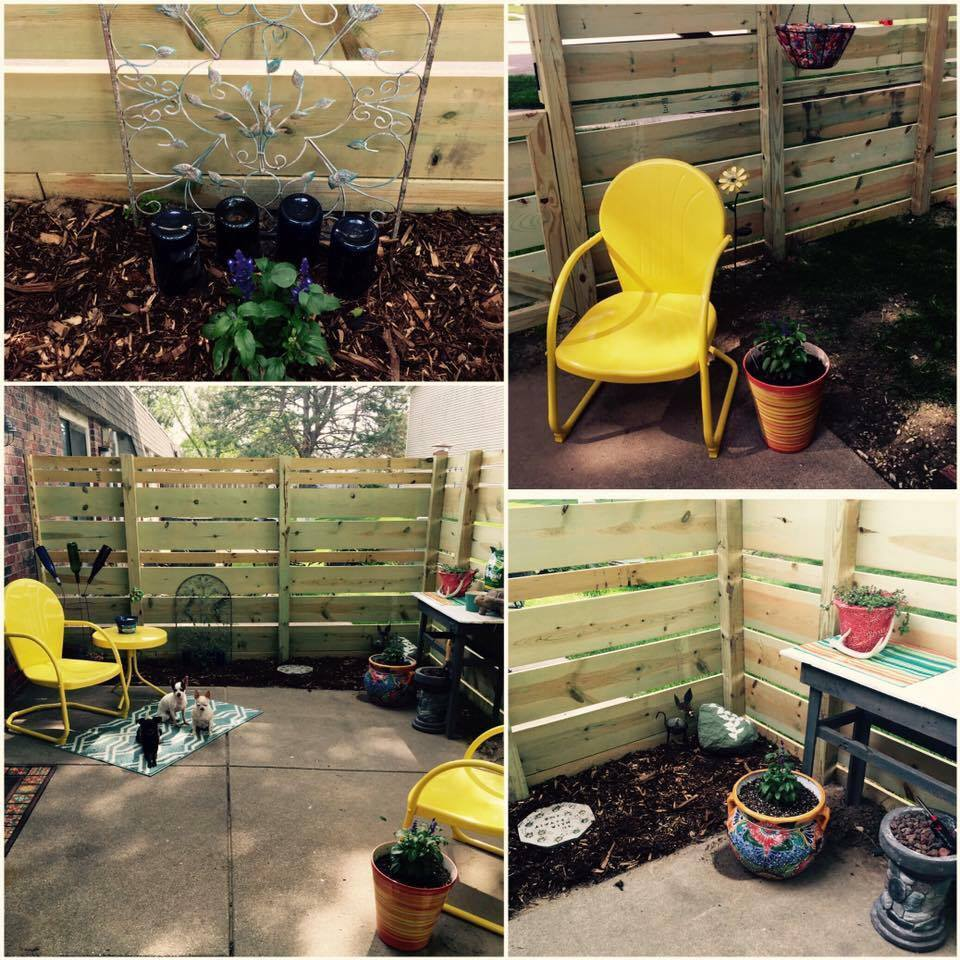 May #30dayflip challenge featuring outdoor spaces and garden ideas