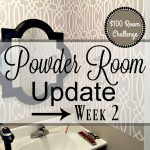 Powder Room Update – Week 2