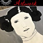 Princess Leia Artwork