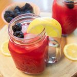 Homemade Blackberry Lemonade