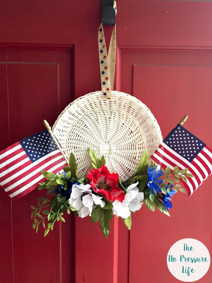Fourth of July Wreath in 15 Minutes