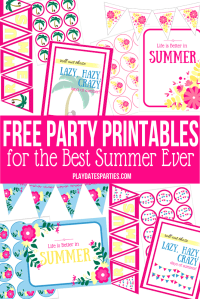 Summer Printables – Spectacular Summer Blog Hop