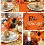 Cornucopia Fall Tablescape
