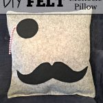 Felt Monocle Pillow