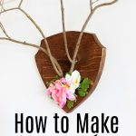 How to Make Twig Antlers