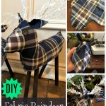 How to Make Fabric Reindeers