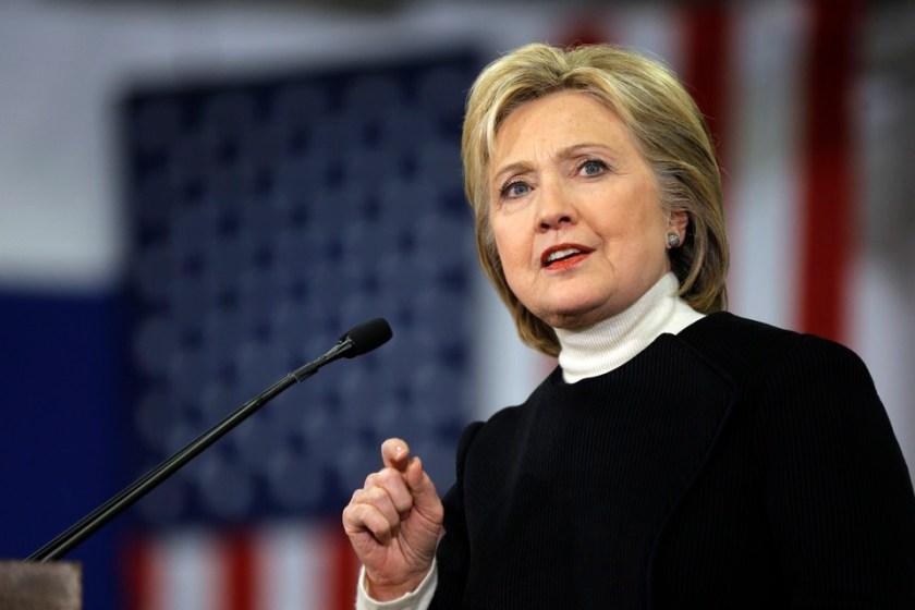 Hilary Clinton, image source: apwu